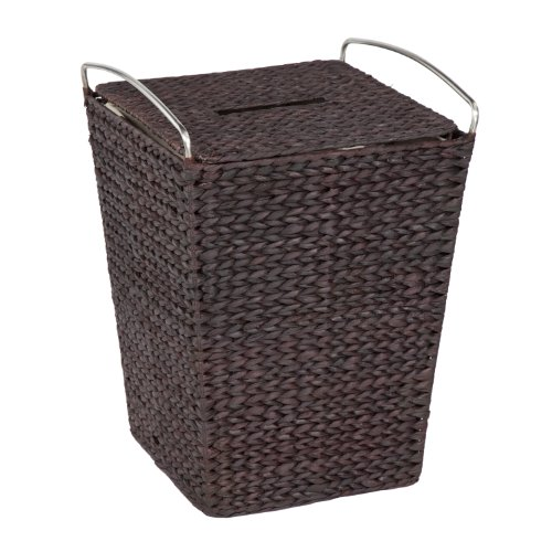 Creative Bath Metro Hamper with Liner, Espresso