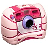 Fisher-Price Kid-Tough Waterproof Camera (Pink)by Fisher-Price