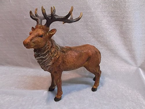Hirsch 20 cm Gweih Waldtier Rotwild