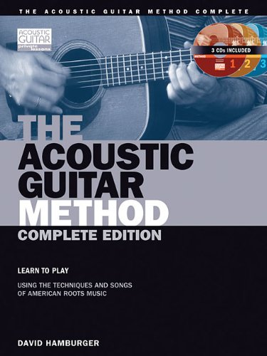 The Acoustic Guitar Method, Complete Edition Book/CD (String Letter
