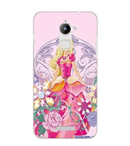 COOLPAD NOTE 3 LITE PRINCES Back Cover by PRINTSWAG