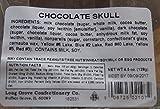 Halloween Day of Dead Solid Milk Chocolate Skull (4.5 Oz)
