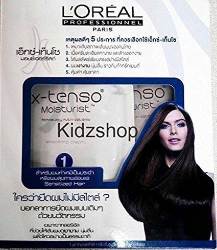 x tenso hair straightening instructions