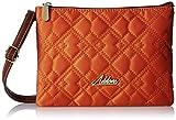Addons Quilted Women's Sling Bag (Orange)