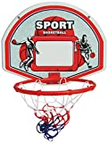 New Plast CB1616 Sonic-Canasta de baloncesto incluye pelota, diámetro 28 cm