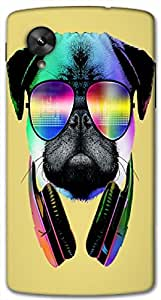 Timpax protective Armor Hard Bumper Back Case Cover. Multicolor printed on 3 Dimensional case with latest & finest graphic design art. Compatible with Google Nexus-5 Design No : TDZ-27779