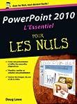 Powerpoint 2010 l'essentiel pour les...