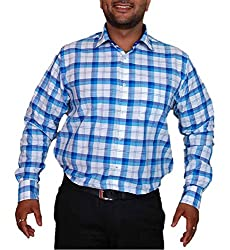 True Men Men's Casual Shirt (Ch_Wb._Multicolor_Medium)
