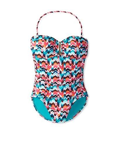 La Blanca Women's Essence Bandeau One-Piece Swimsuit