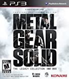 Metal Gear Solid: The Legacy Collection [PS3]{Region Free USA Import}