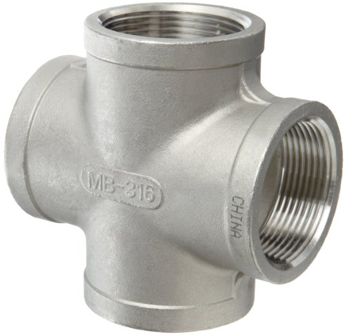 Stainless Steel 316 Cast Pipe FittingCrossClass 150NPT Female stainless steel fittings pipe