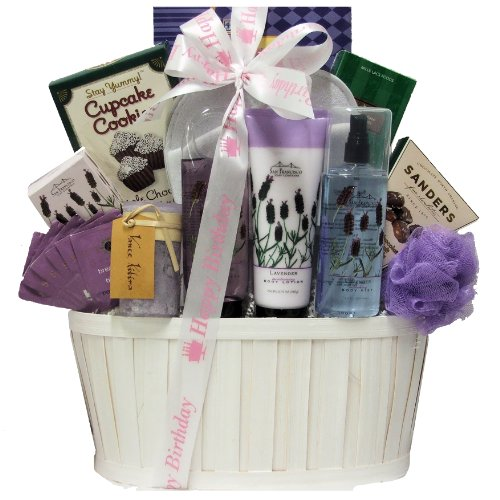 Greatarrivals Gift Baskets Lavender Spa Pleasures Birthday Bath And Body Spa Gift Basket