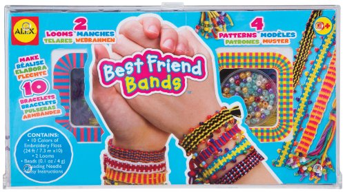 ALEX Toys Do-it-Yourself Wear Best Friend Bands Jewelry Kit