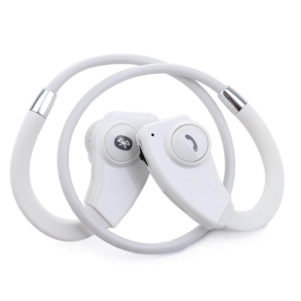 Rotibox Sports Bluetooth 4.0 Wireless Stereo Headphones High Definition Headset Earphone Earbud Earpiece With Microphone Hands-free Calling [ Sports / Running / Gym / Exercise/ Lifestyle] For Apple Iphone 6, 6 Plus, 5 5c 5s 4s Ipad Ipod Touch, Samsung Ga airersi k6 business bluetooth headset smart car call wireless earphone with microphone hands free and headphones storage box