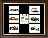 """""""Graham & Damon Hill"""" Englisch Kollektor-Karten-Set"""