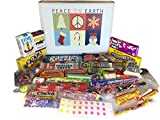 Christmas Holiday Retro Nostalgic Candy Gift Box - Peace on Earth