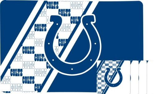INDIANAPOLIS COLTS PLACEMAT AND COASTER SET at Amazon.com