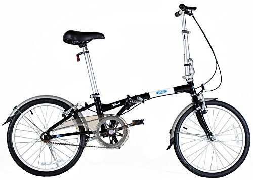 Ford Taurus 1.0 20 Inch Single Speed Folding Bicycle 11 Black