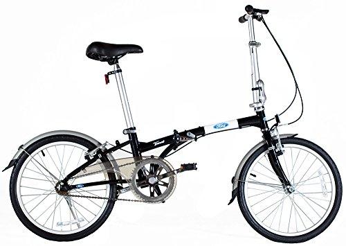Ford Taurus 1.0 20 Inch Single Speed Folding Bicycle 11 Black