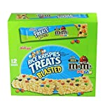 KELLOGGS RICE KRISPIES TREATS BLASTED WITH MILK CHOCOLATE M&m MiniS 2.1 Oz Each (12 In A Pack)