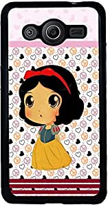 PrintVisa Cartoon pattern girl Back Cover for Samsung Galaxy Core 2 (2D-SCR2-D7732)