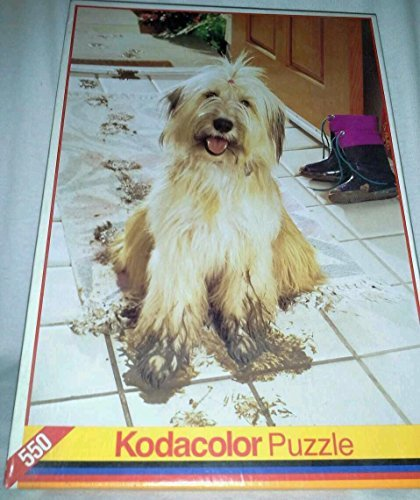 "Kodacolor ""Shaggy Dog with Muddy Feet"" 550 Piece Puzzle - 1"