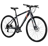 Diamondback Bicycles 2014 Trace Dual Sport Bike (700cm Wheels), 18-Inch, Grey