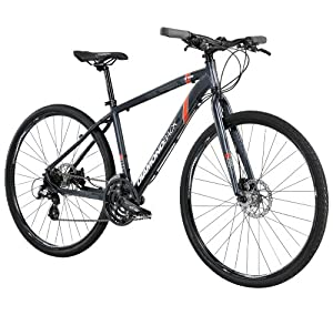 Diamondback Bicycles 2014 Trace Dual Sport Bike (700cm Wheels), 16-Inch, Grey