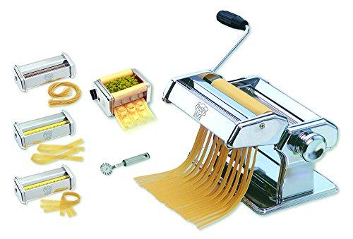 PASTAAID 2215 Multiset Julia 150 Nudelmaschine Set mit 4 x Vorsätze