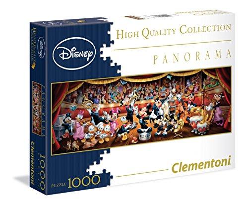 Clementoni - 393473 - Panorama Puzzle - Disney Classique - 1000 Pièces
