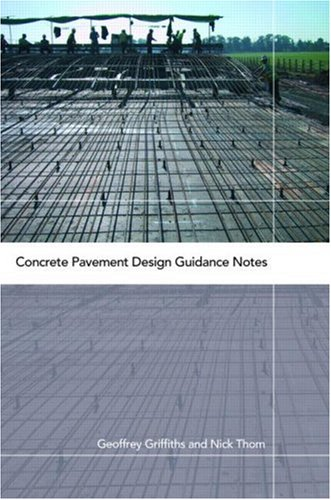 Book Cover: [share_ebook] Concrete Pavement Design Guidance Notes