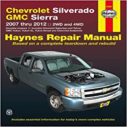 chevrolet silverado gmc sierra 2007 thru 2012 2wd and