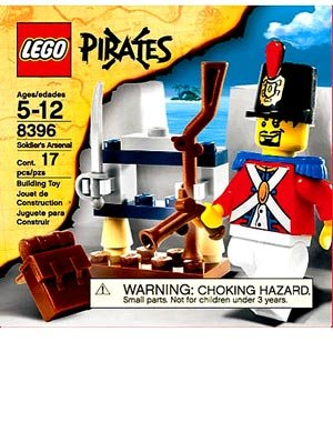 Lego Pirates Set #8396 Soldier's Arsenal Amazon.com