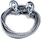 Kozdiko Car Auto Full Steel Towing Rope 2000kgs 6mm For - Rexton