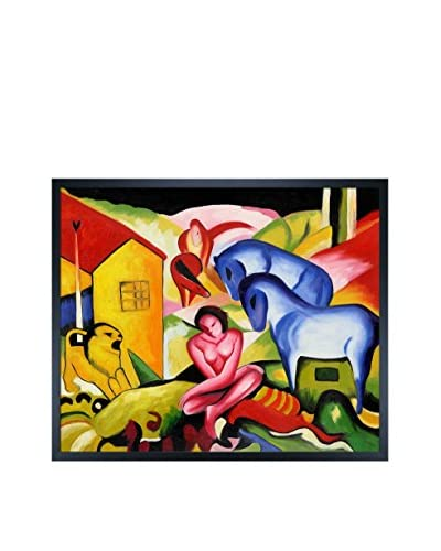 Franz Marc The Dream Framed Hand-Painted Reproduction