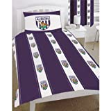 West Bromwich Albion Football Club DOUBLE Quilt/Duvet Cover Bedding Set