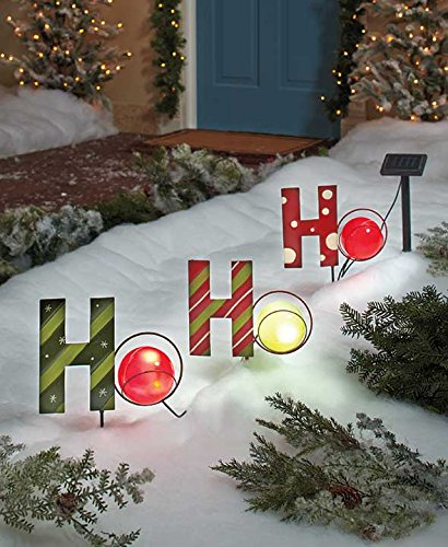 deck your halls solar powered outdoor christmas lights. Black Bedroom Furniture Sets. Home Design Ideas