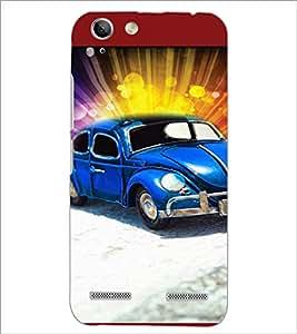 PrintDhaba Car D-5959 Back Case Cover for LENOVO A6020a46 (Multi-Coloured)