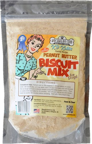 K9Cakery All Natural Peanut Butter Biscuit Mix