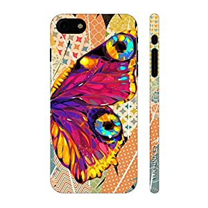 Enthopia Designer Hardshell Case Butterfly on a Feathery Wall Back Cover for Apple iPhone 7