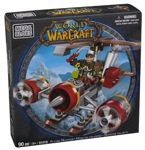 Mega Bloks World of Warcraft Flying Machine and Flint (Alliance Gnome Rogue) - 1