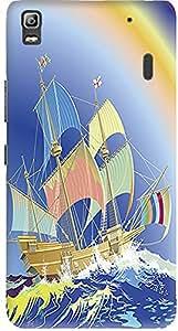Meetarts Lenovoa _D1295 Mobile Case for Lenovo A 7000 (Multicolor)