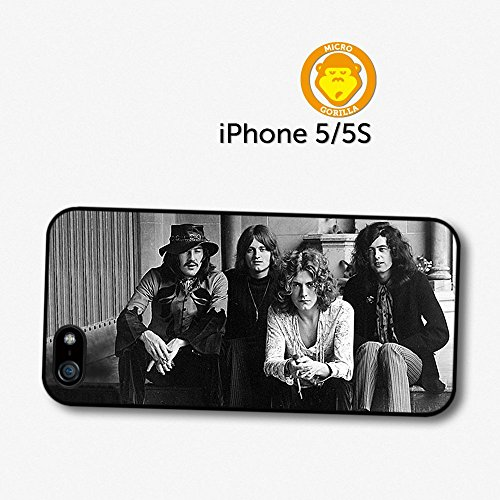 Led Zeppelin Black And White Band Photoshoot Case For Iphone 5 5S A5748