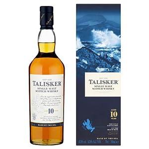 70cl Talisker 10 Year Old Single Malt Whisky (Case of 6)