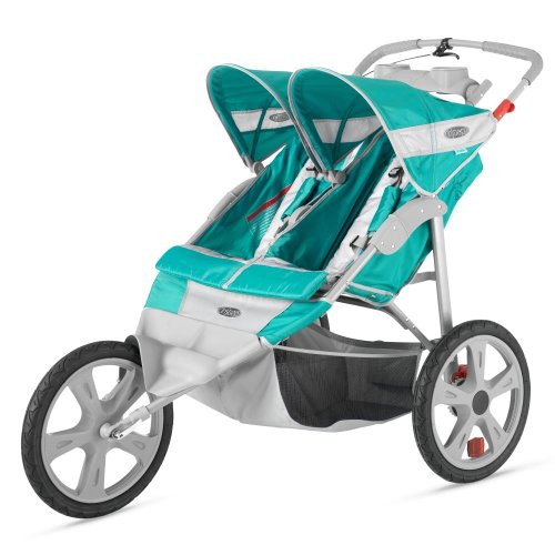 2013 Instep Flash Double Jogging Stroller front-1059196