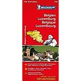 Belgien Luxemburg (Michelin Nationalkarte)