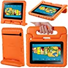 i-Blason ArmorBox Kido Series for Kindle Fire HD 7 Inch Tablet Convertible Stand Cover Case Kids Friendly (will only fit Kindle Fire HD 7 1st Generation 2012)  (Orange)