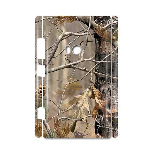 Realtree Camouflage Pattern 100% Plastic 3D Case For Nokia Lumia 920