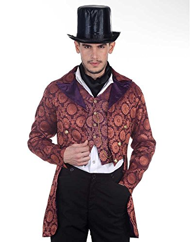 Steampunk Victorian Gentleman Opera Coat Costume (Large)
