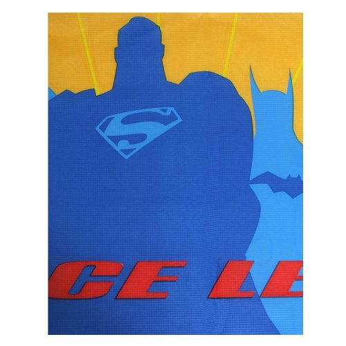 Justice League Vintage Paper Table Cover (1ct)